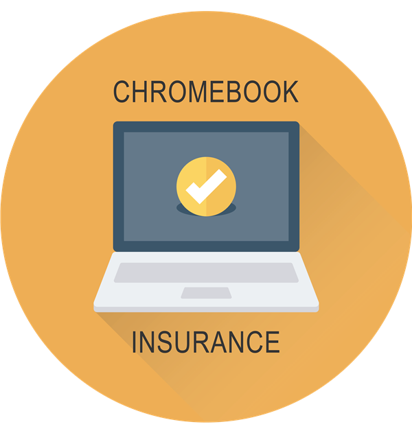 chromebook insurance title with a laptop icon