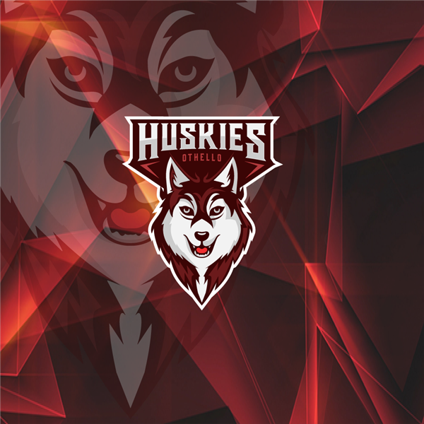 New Othello High School Huskies Logo
