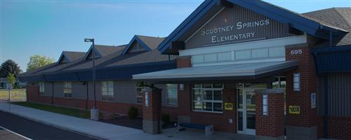 Scootney Elementary school front