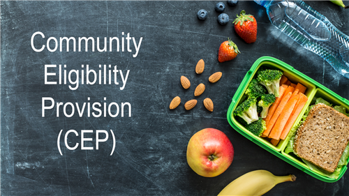 school lunch items with community eligibility provision written