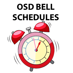 alarm clock OSD Bell Schedules
